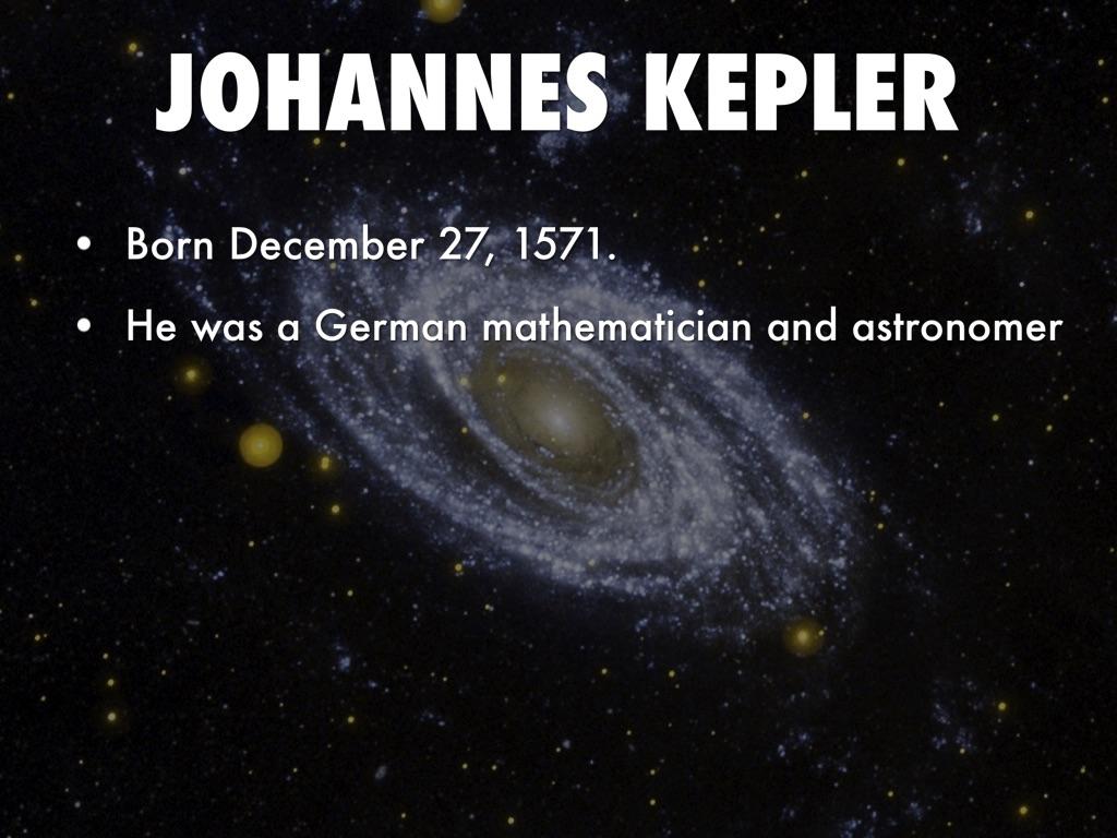 KEPLER - PowerPoint PPT Presentation