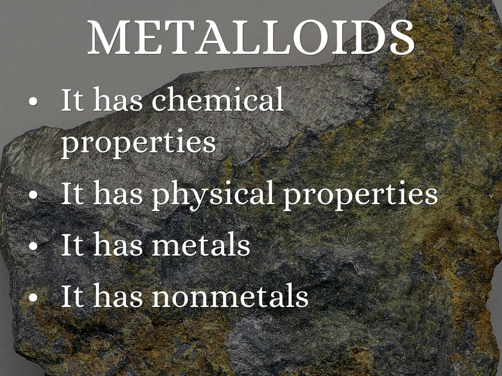 Periodic table facts by havyn midkiff metalloids gamestrikefo Gallery