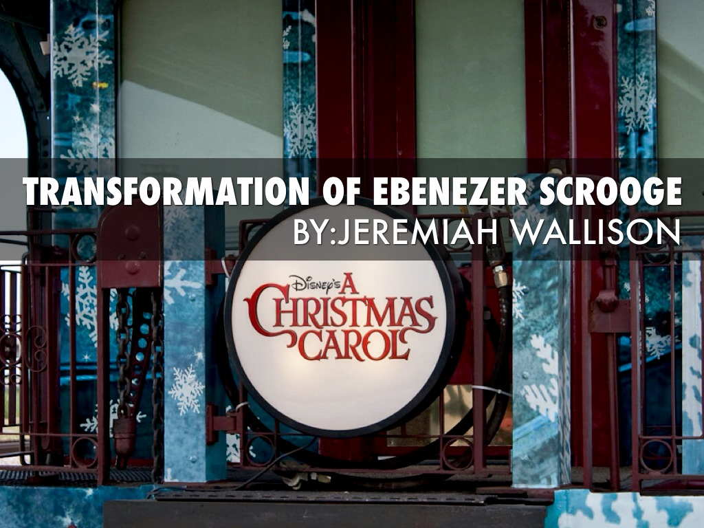 transformation of ebenezer scrooge in a christmas carol