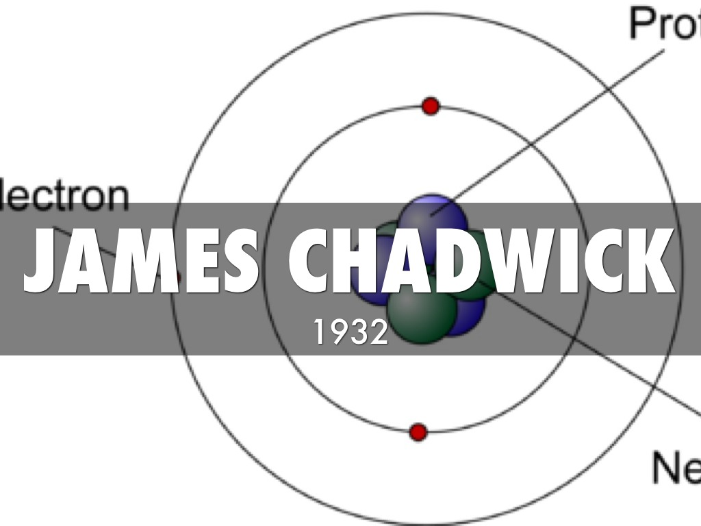 james chadwick atomic model - photo #7