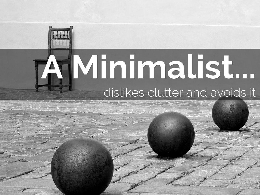 Minimalist Organizing Personality Style