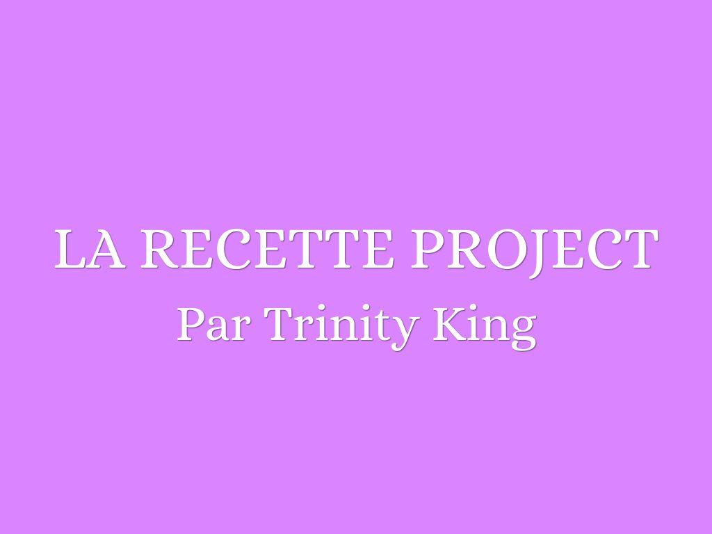 La Recette Project