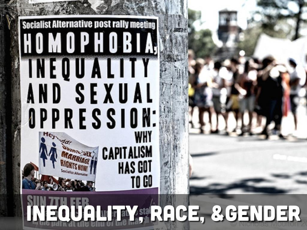 race gender inequalities