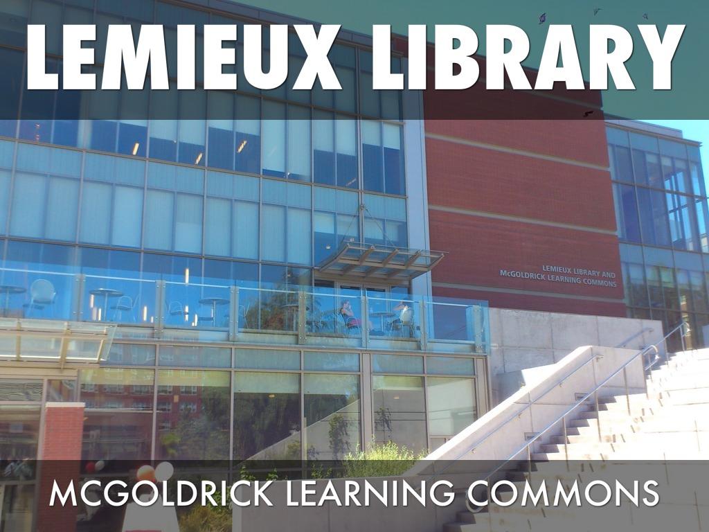 Lemieux Learning Commons