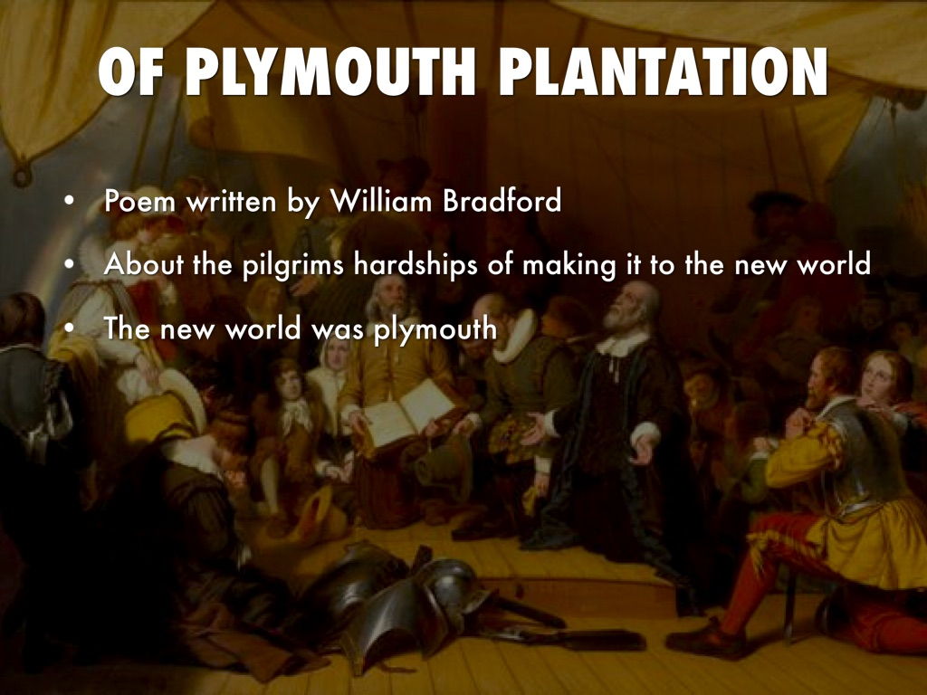 of plymouth plantation chapter 9 essay Sample of of plymouth plantation essay a considerable part of the chapter is devoted to describing the wrongness of the when the settlers arrived in plymouth.