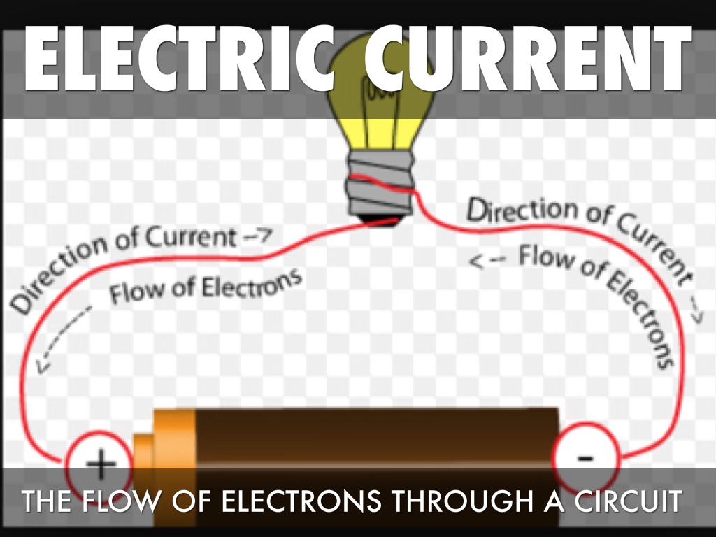 electric current and current flow