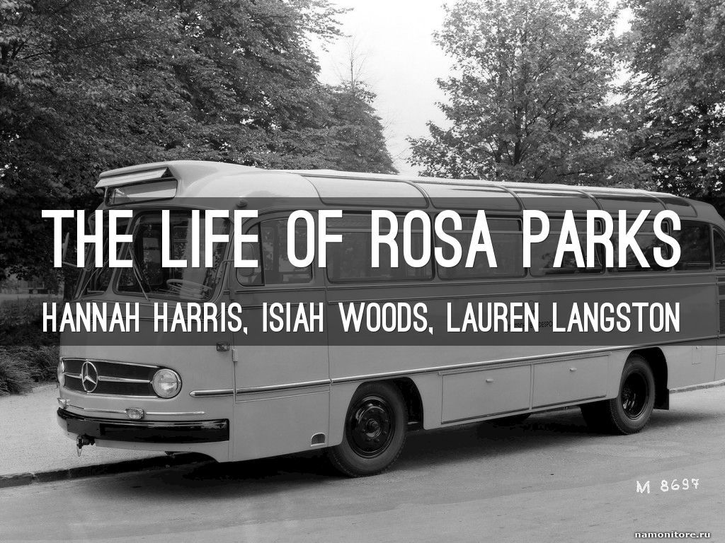 the life and role of rosa parks