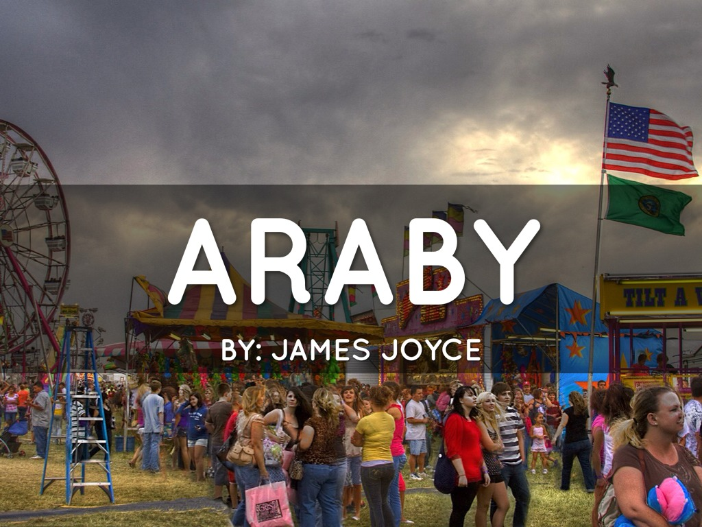 """araby by james joyce Abstract: james joyce's short story """"araby"""" depicts an adolescent boy's  disillusionment- disillusionment with love and reality brought up in dreary and  dismal."""