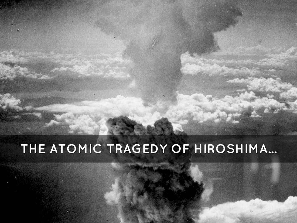 the atomic tragedy of hiroshima in the book hiroshima