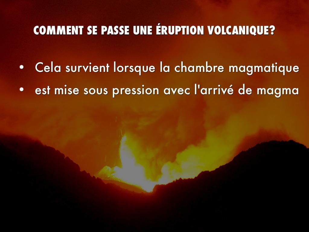 Pr sentation sur les volcans by laurie mandon for Chambre magmatique