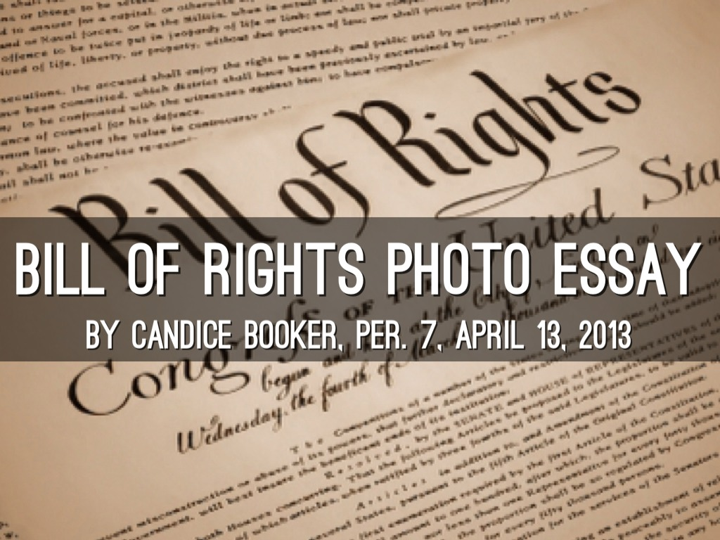 bill of rights paper essay example Commentary and archival information about the united states bill of rights   readers respond to an op-ed essay about attacks on the constitution from the  left.