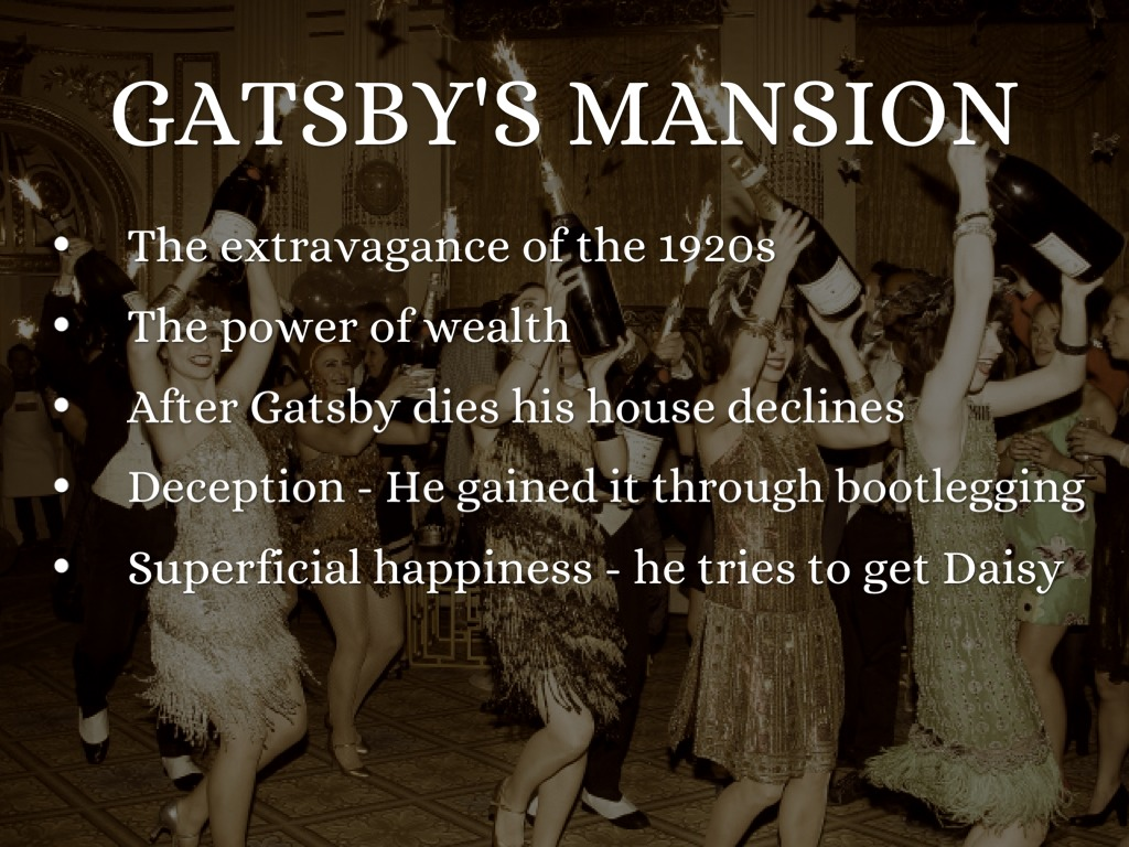 symbolism and imagery in gatsby