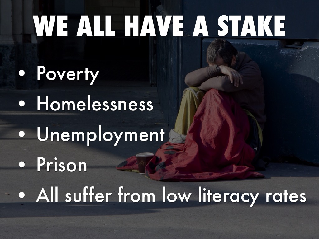 poverty unemployment and literacy Poverty is a condition in which a person experiences chaos due to the absence of material things that he needs in order to survive while unemployment is the absence of opportunity to generate money for a living in exchange of someone's time, effo.