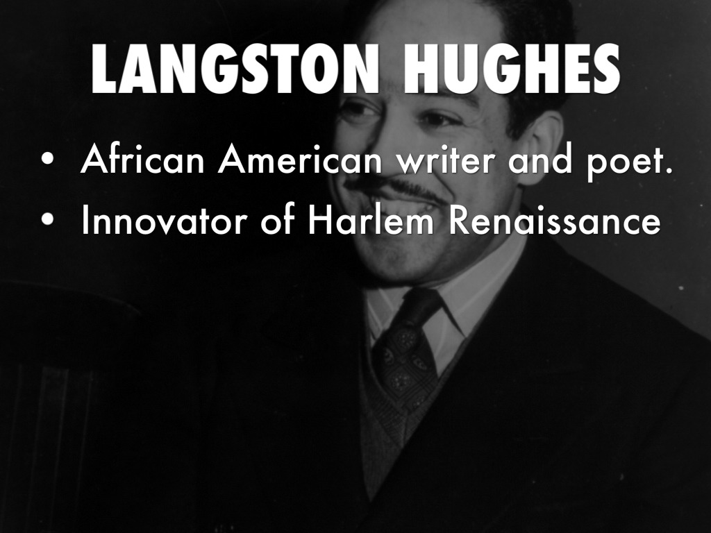 the unconventional style of langston hughes a poet of the harlem renaissance Home news explore history langston hughes: 10 facts.