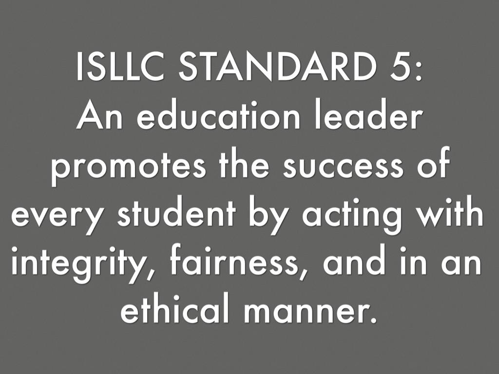 isllc standards