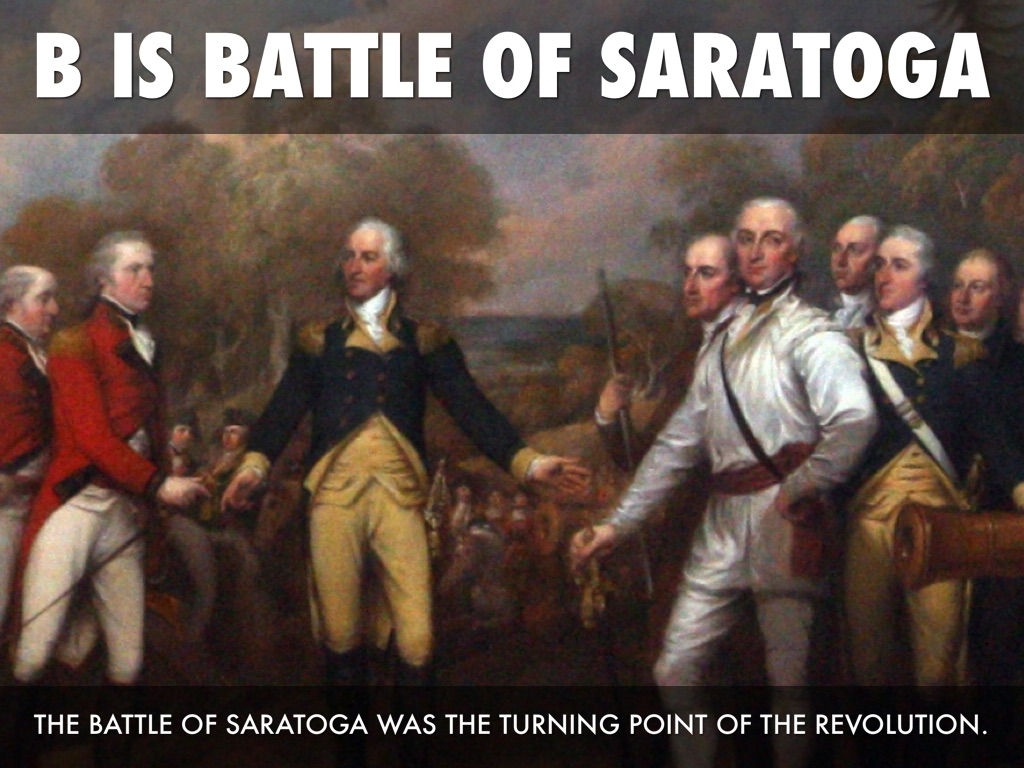an overview of the battle of saratoga