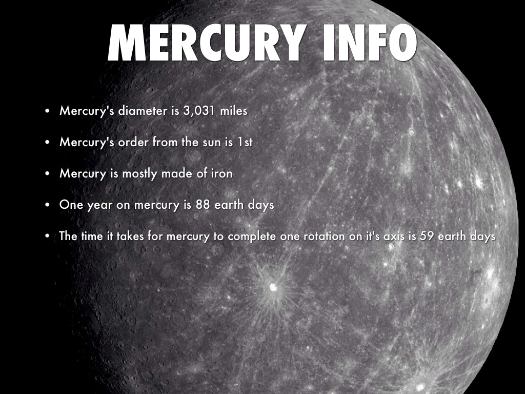 articles on the planet mercury - photo #29