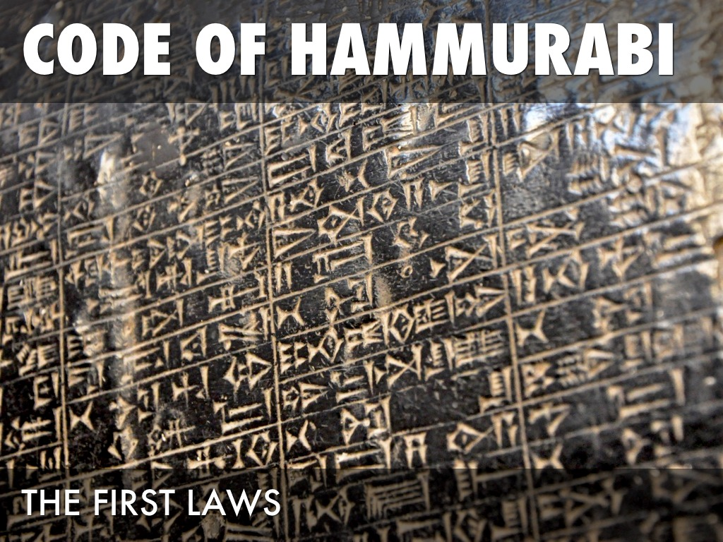 the first 10 of hammurabis law  about hammurabi, the creator of some of the earliest written laws in  so that  she lose her unborn child, he shall pay ten shekels for her loss.