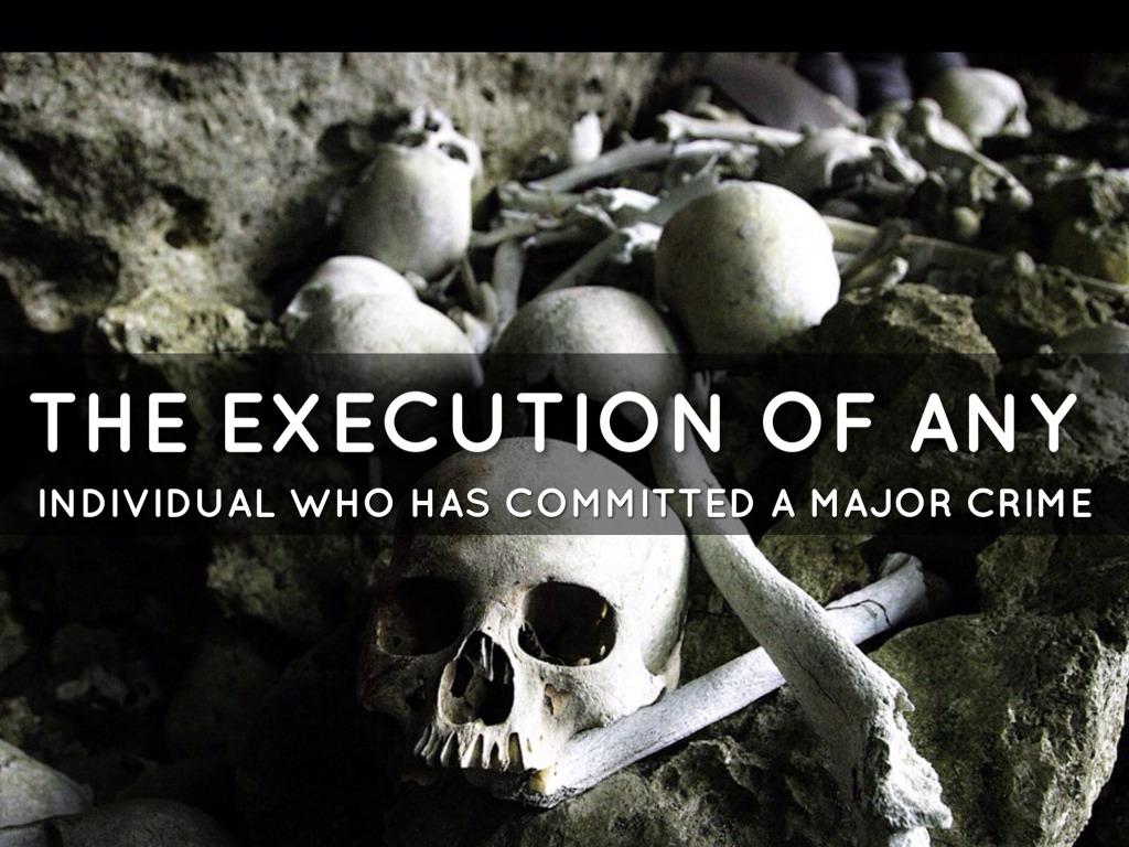 Capital punishment unconstitutional essay