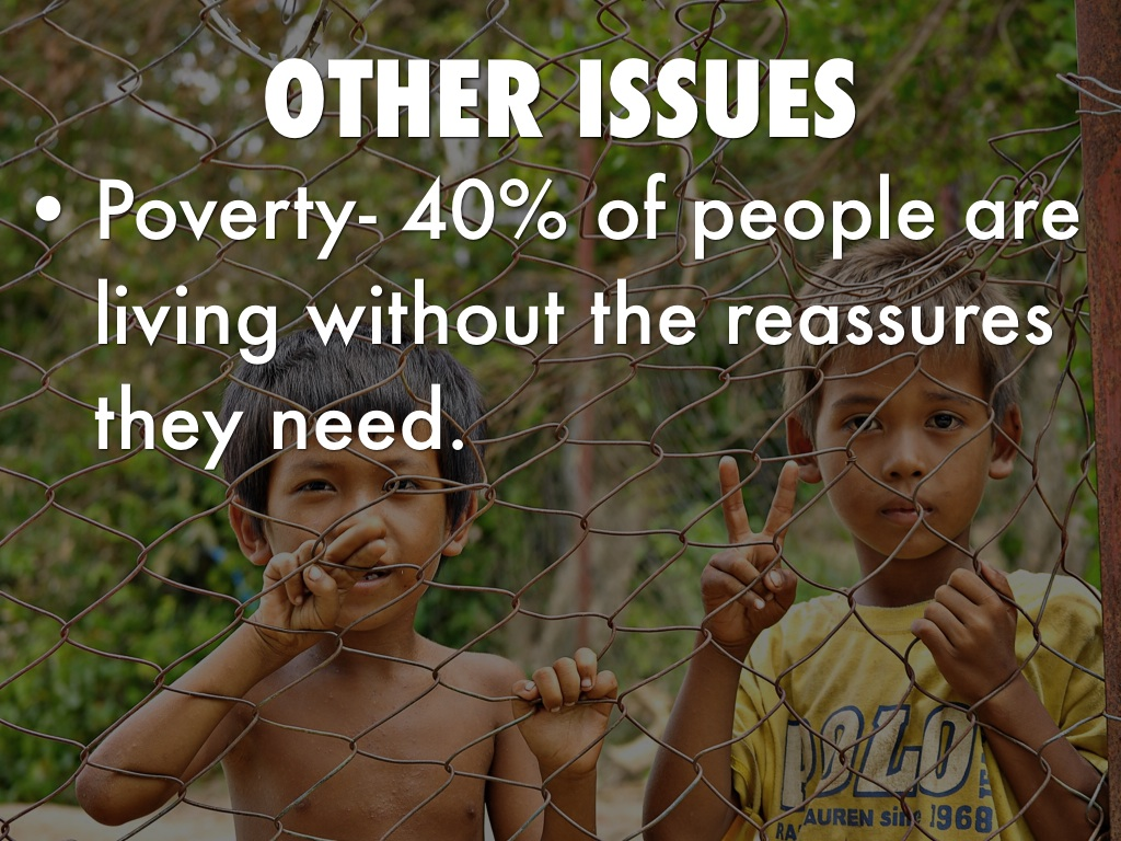 issues of poverty