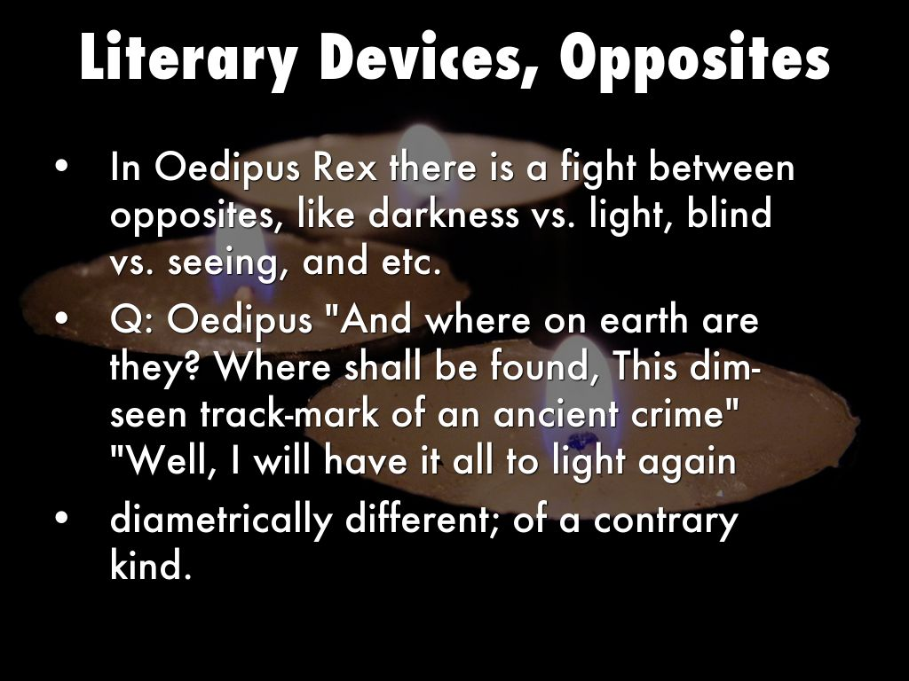 oedipus rex questions #2779 discussion questions on sophocles's oedipus rex literature, level: senior posted mon jan 6 09:28:24 pst 2003 by richard bloom (libertyskipper@excitecom)central hs of prince george's county public schools, capitol heights, maryland.