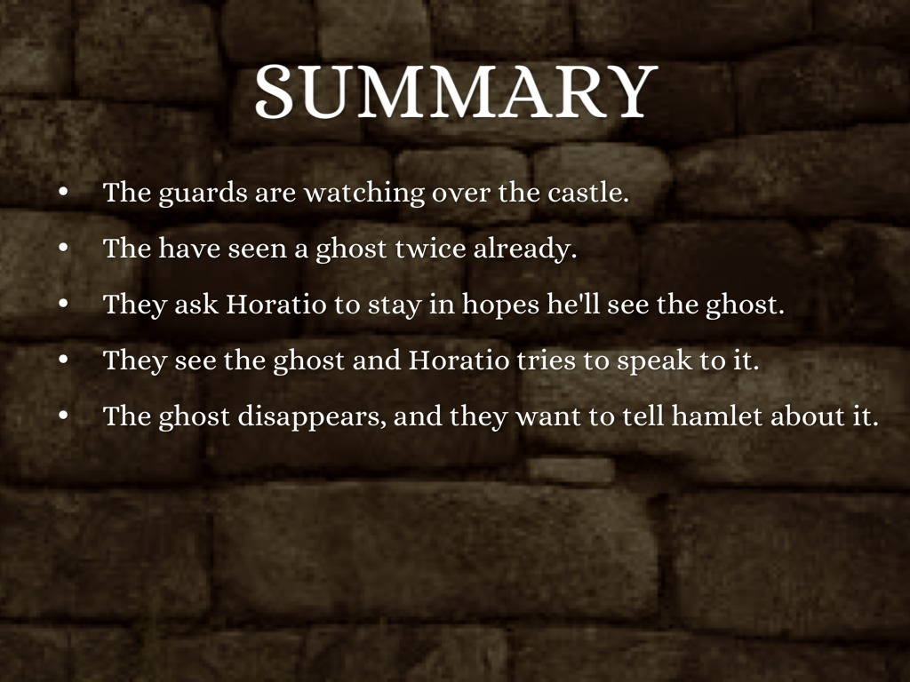 summary hamlet act v scene i Scene 1 the final act begins with a conversation between two  hamlet  approaches the gravedigger and exchanges witticisms about this.
