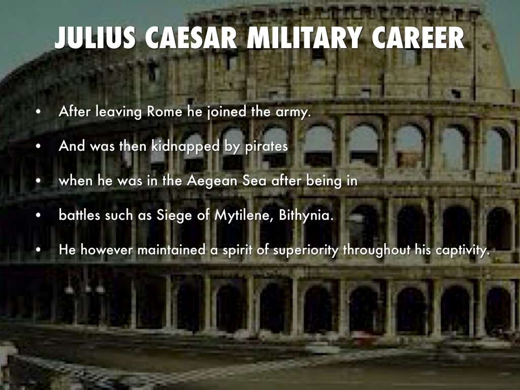 a biography of the life and military career of gaius julius caesar germanicus Compre biography: julius caesar: his biography in 30 events (julius caesar biography, biography books, biographies of famous people) (biography series.
