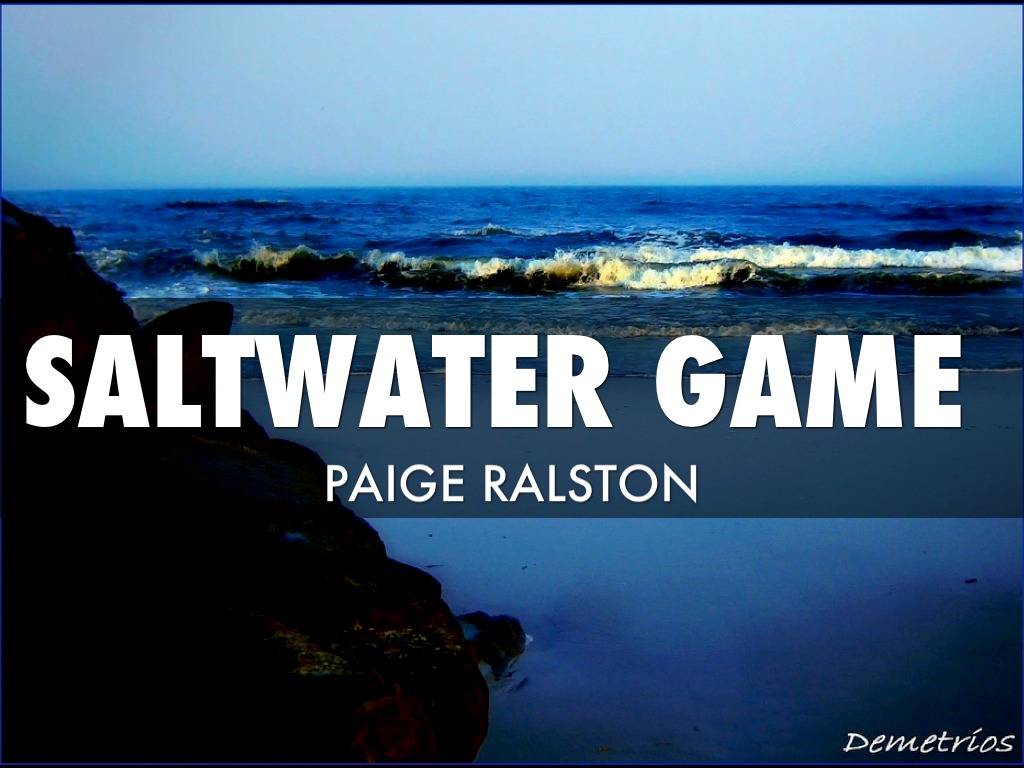 Saltwater Game Fish By Paige Ralston