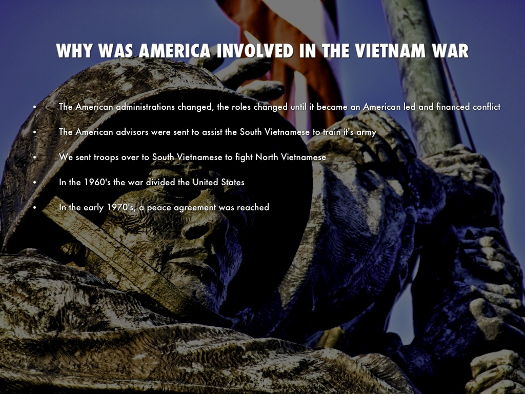 the main cause of americas involvement in the vietnam war