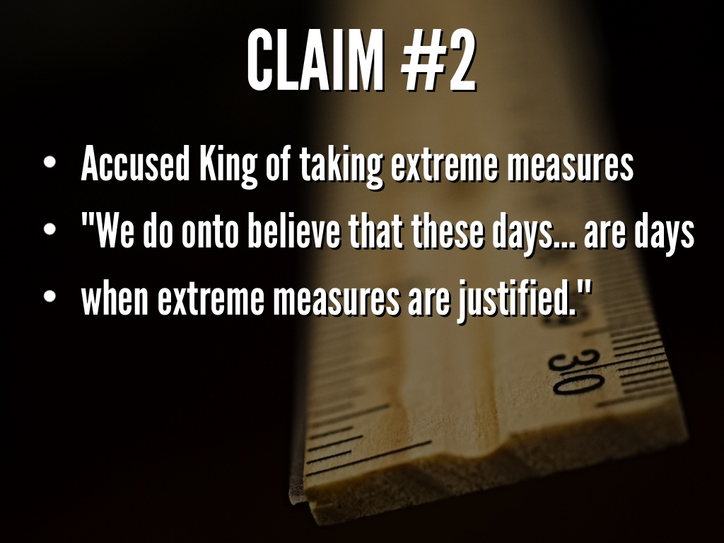 """unwise and untimely King's actions were """"unwise and untimely"""" he responded with a letter written in  jail that was soon printed as a pamphlet by the american."""