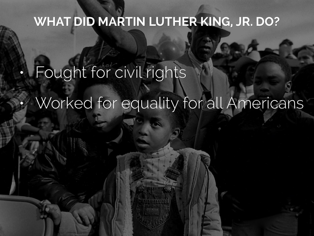 martin luther kings fight for equal rights What tactics did martin luther king use in civil rights movement.
