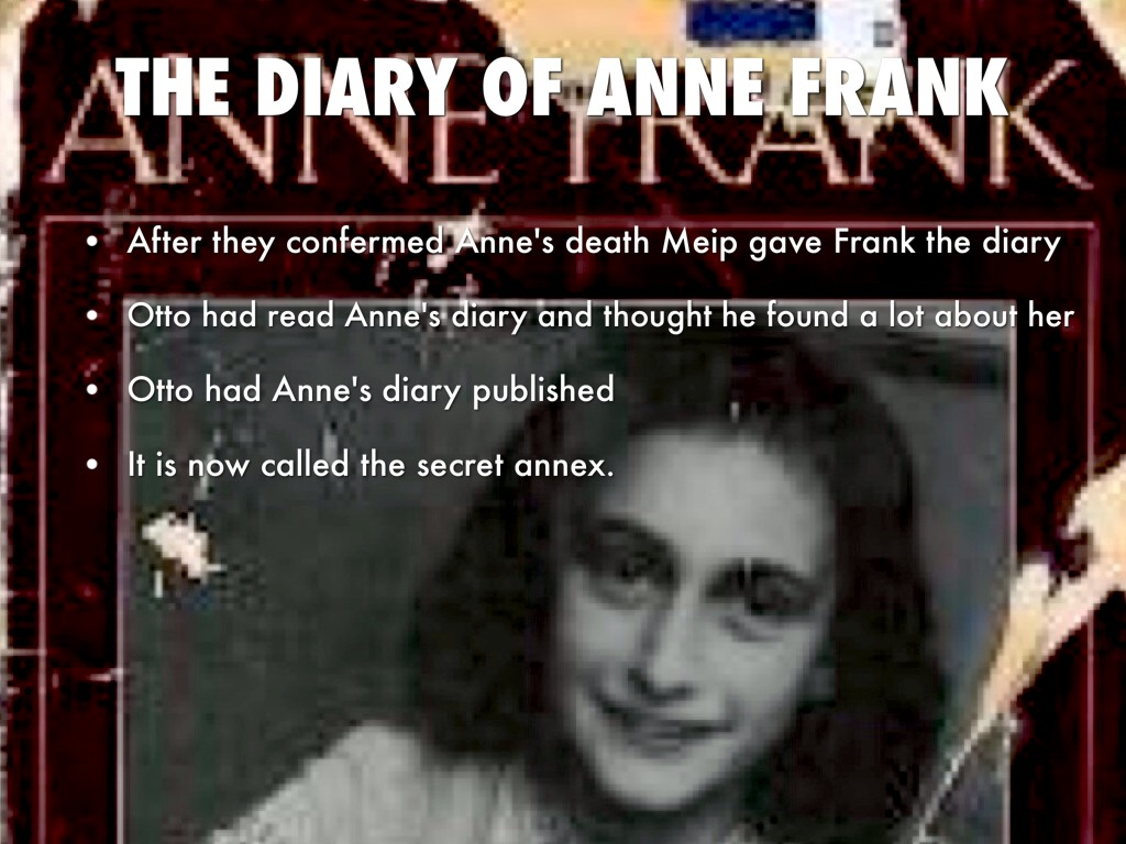 an analysis of anne from the diary of anne frank Essays for the diary of a young girl by anne frank the diary of a young girl literature essays are academic essays for citation these papers were written primarily by students and provide critical analysis of anne frank's the diary of a young girl.
