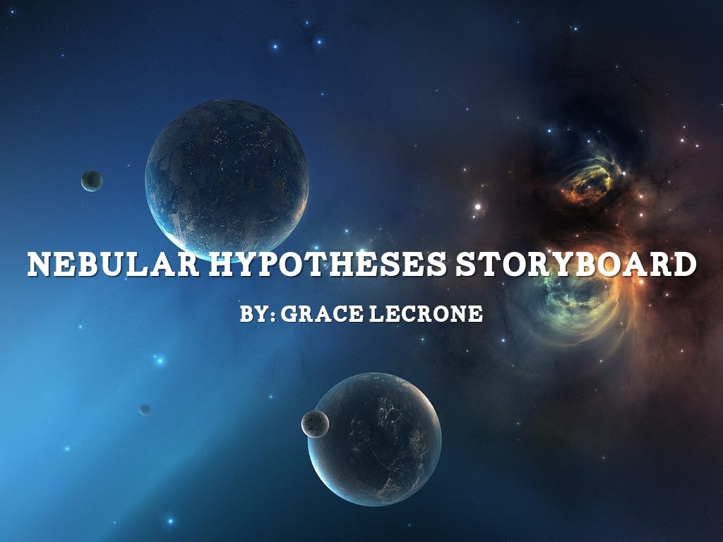 Astronomical hypotheses