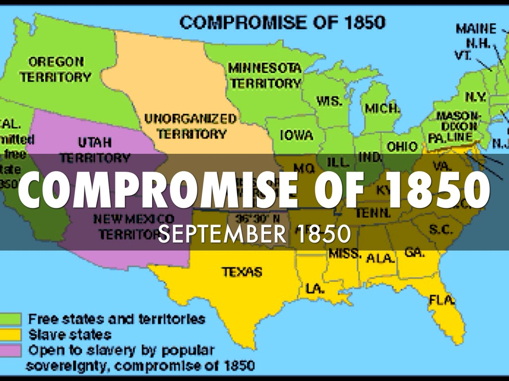 compromise of 1850 Matthew pinsker gives a crash course on the compromise of 1850, the resolution to a dispute over slavery in territory gained after the mexican-american war.