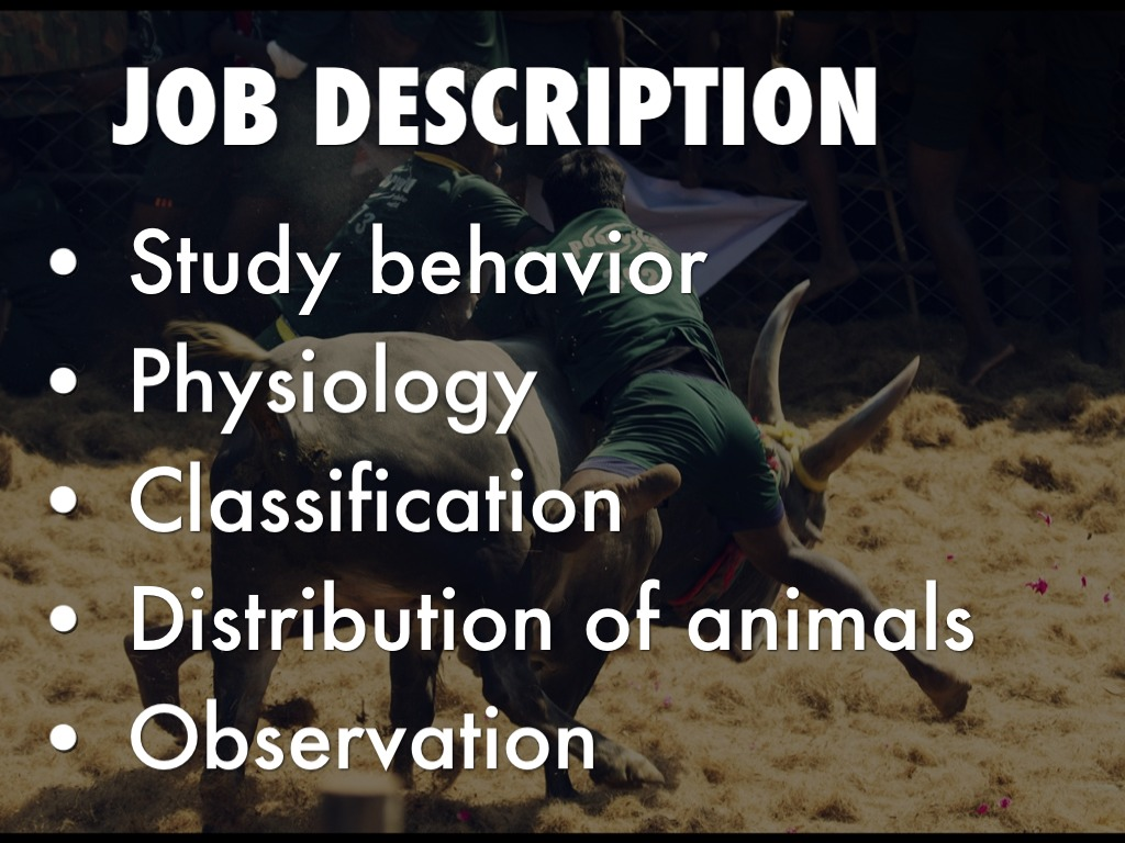 Zoologist by Hayden Thompson Tide Molina – Zoologist Job Description
