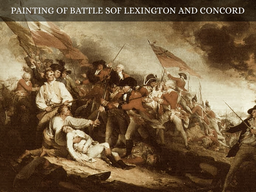 lexington and concord The battles of lexington and concord were the first battles of the american revolutionary war the battles were between british soldiers, who wanted to.