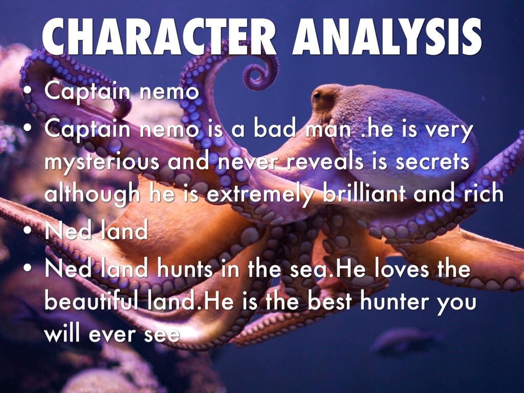 captain nemo character analysis
