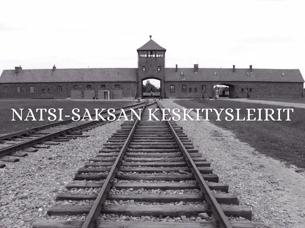 Saksan Keskitysleirit