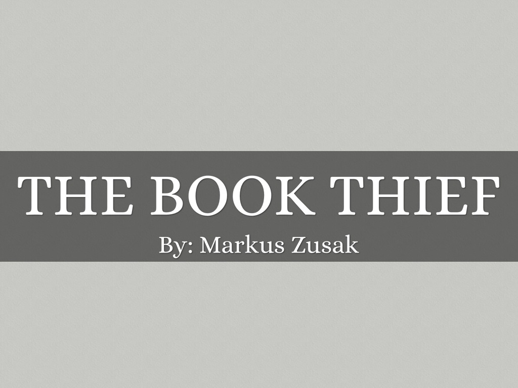 the book thief by bmthompson