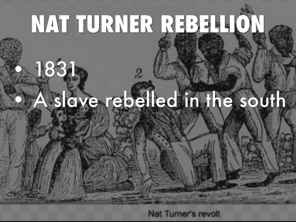 nat turners rebellion Gene epstein returns on the 50th anniversary of william styron's historical novel the confessions of nat turner, the slave who led a famous revolt in virginia.