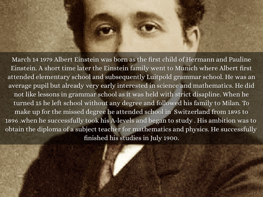Albert einstein biography essay famous biography 2017