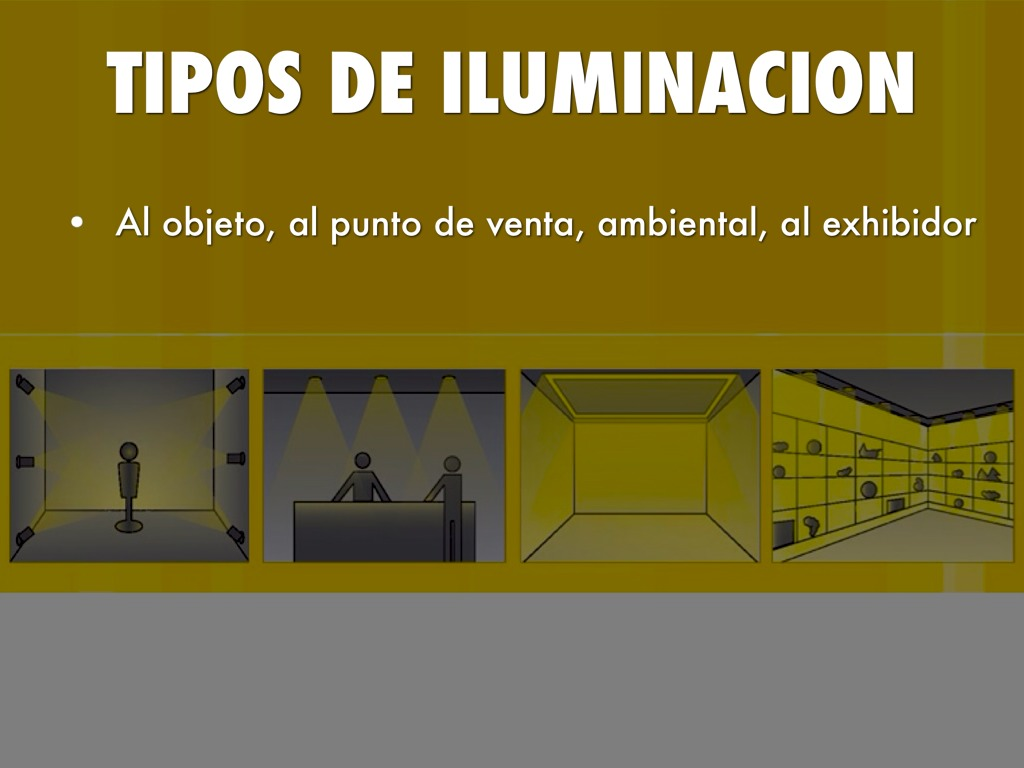 Iluminaci n comercial by isaac v zquez - Tipos de iluminacion ...