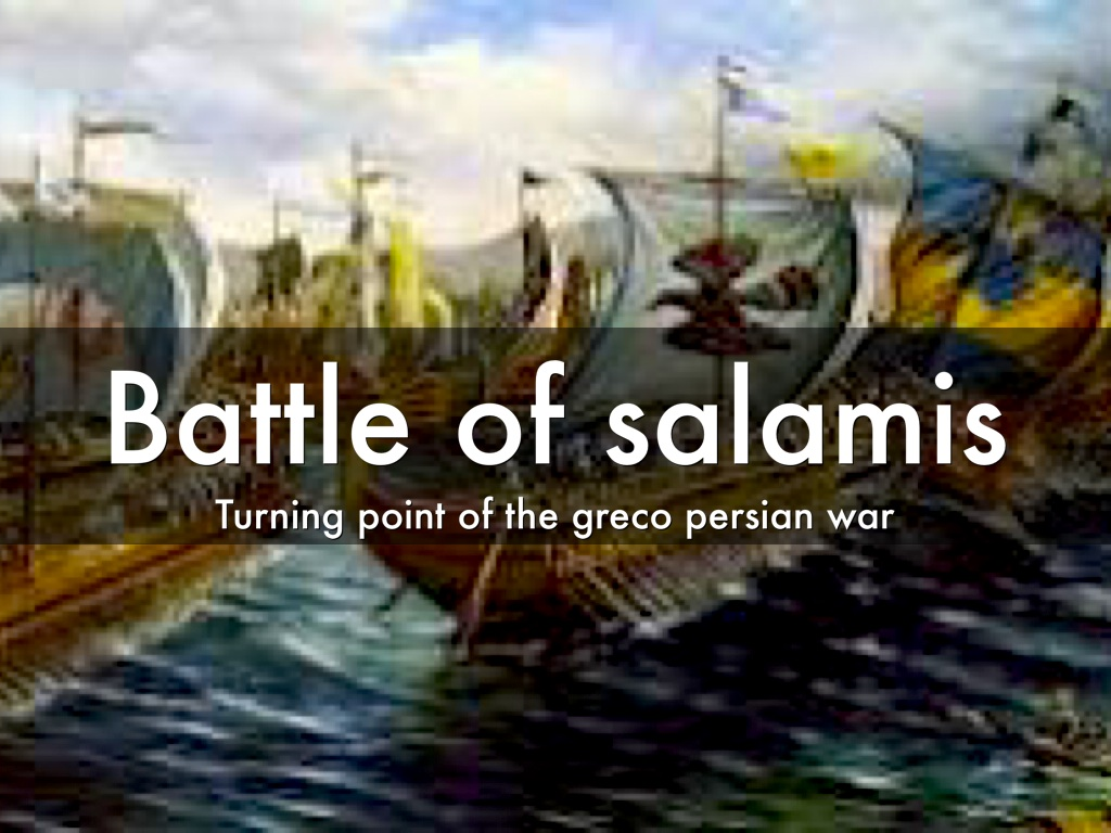 battle of salamis The paper is divided into five sections: the topography of the salamis channel,  the evidence for the battle, the manoeuvres of the day and the.