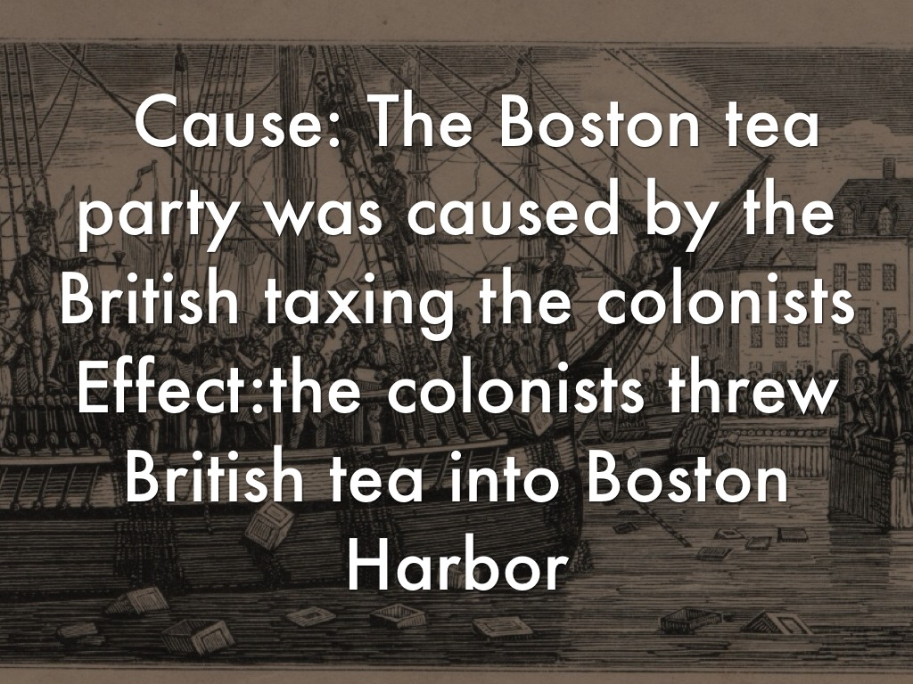 What Caused The Boston Tea Party - halflifetr.info