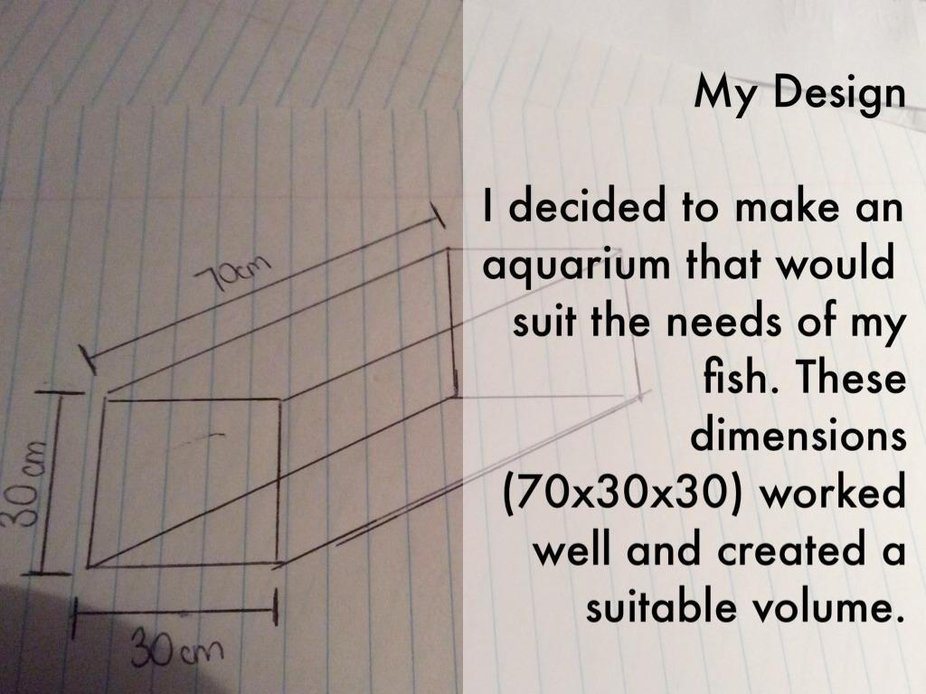 Fish tank volume calculator cm - 4