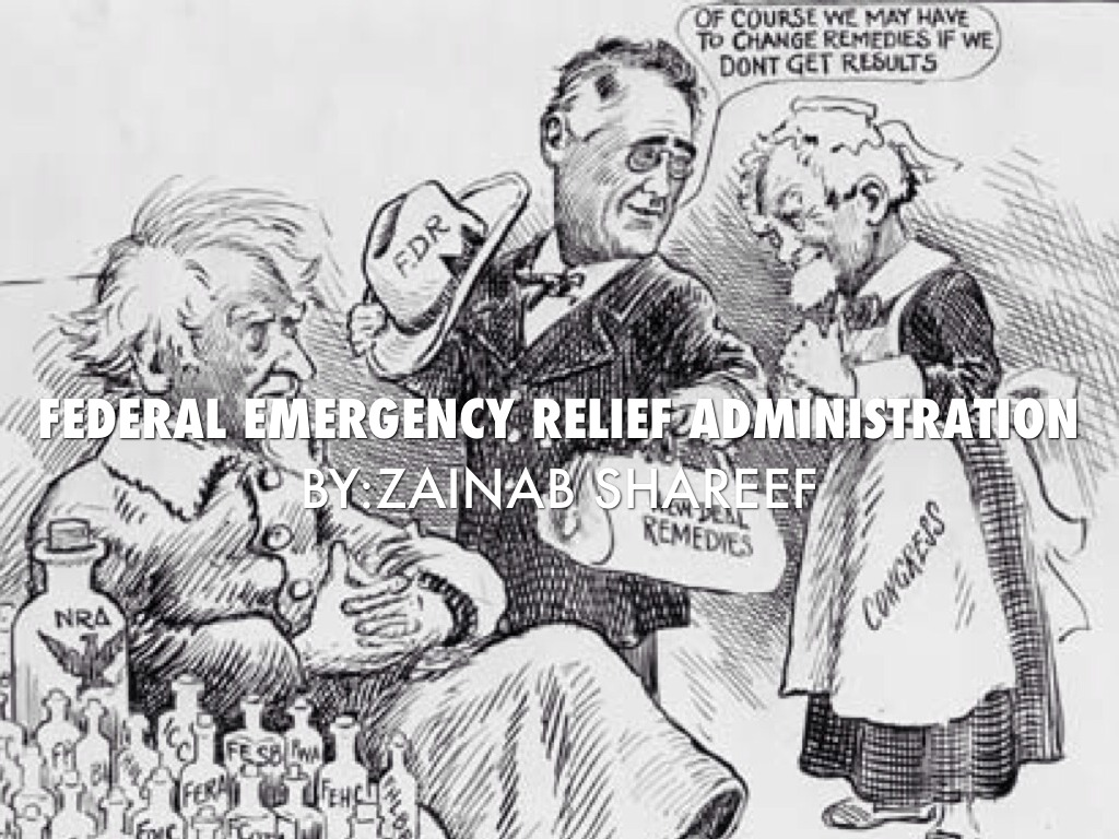 the emergency relief act