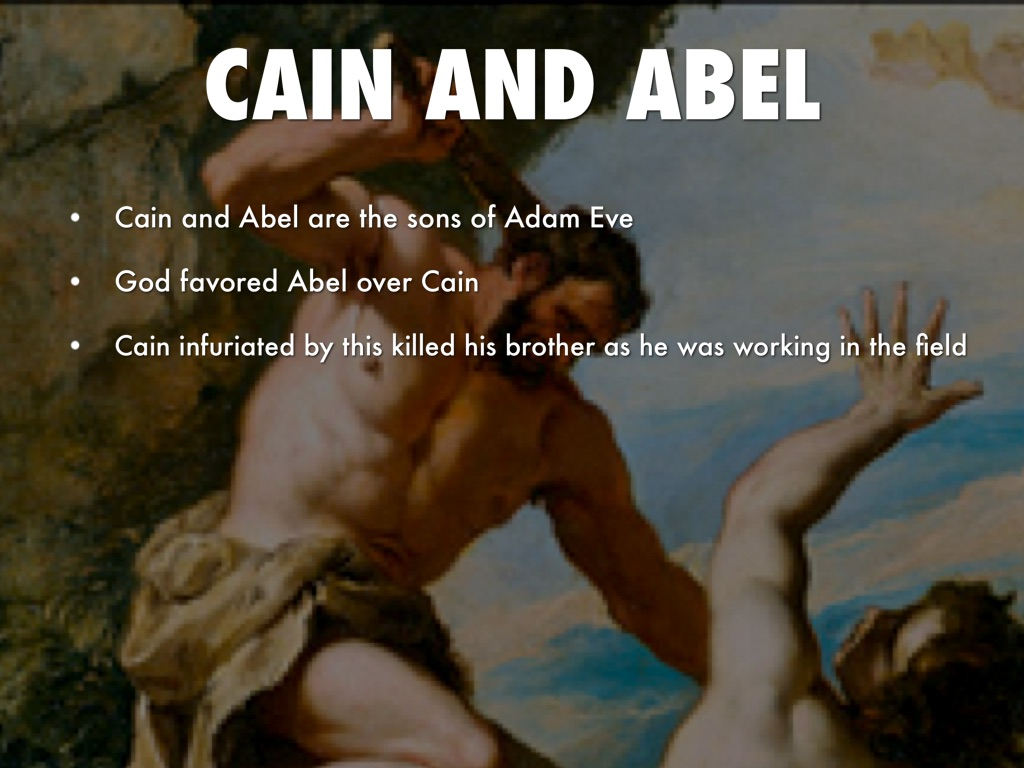 cain able essay Essay about cain and abel - cain and abel cain and abel are the first two sons of adam and eve cain is the eldest and abel is the youngest cain is described as the tiller of the ground whereas abel is the keeper of sheep both men know that god requires an offering, but the offering of cain is quite different from that of abel.