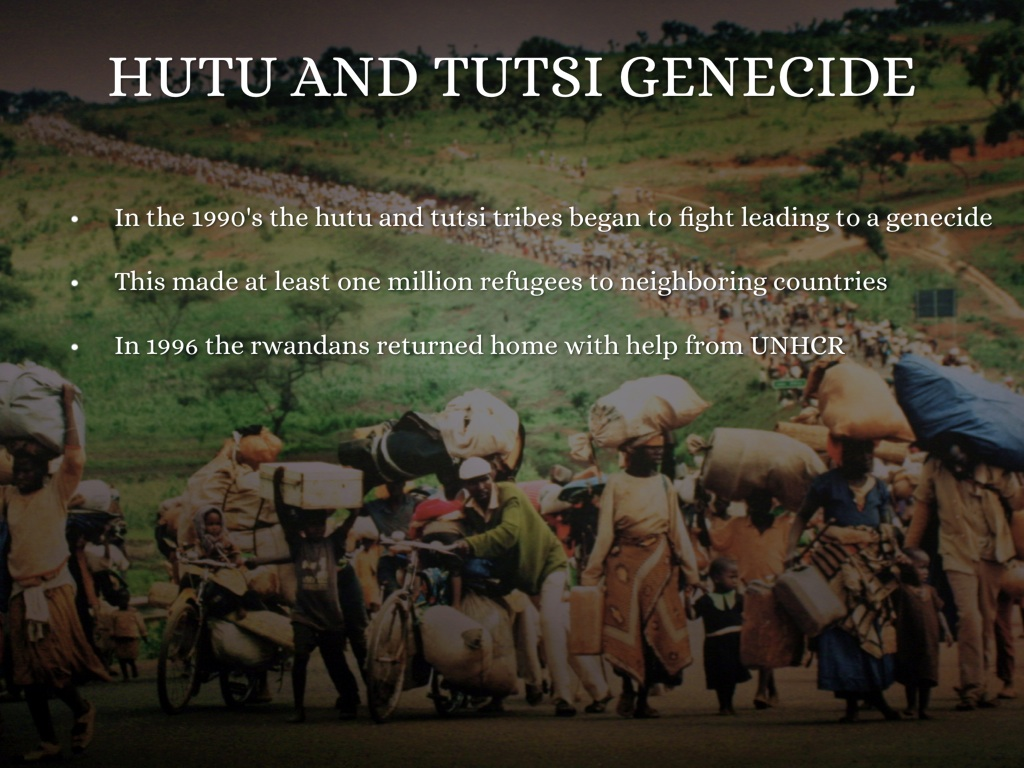 a look at the hutu and tutsi tribes in rwanda The tutsi retained their dominant position over the hutu in rwanda until 1961,  when the monarchy was overthrown in 1994, in the midst of a military campaign .