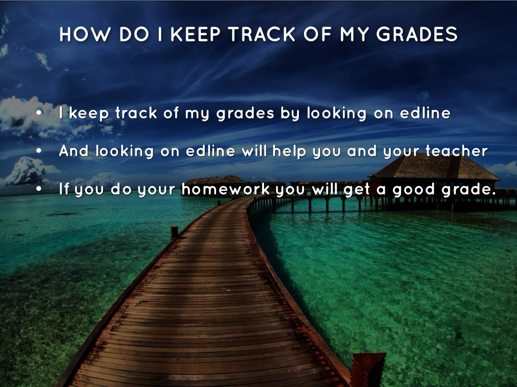 keep track of my grades