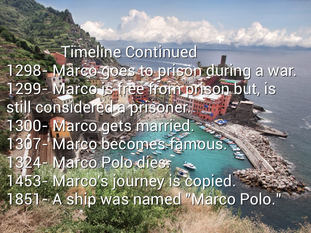 Marco Polo by jarivera